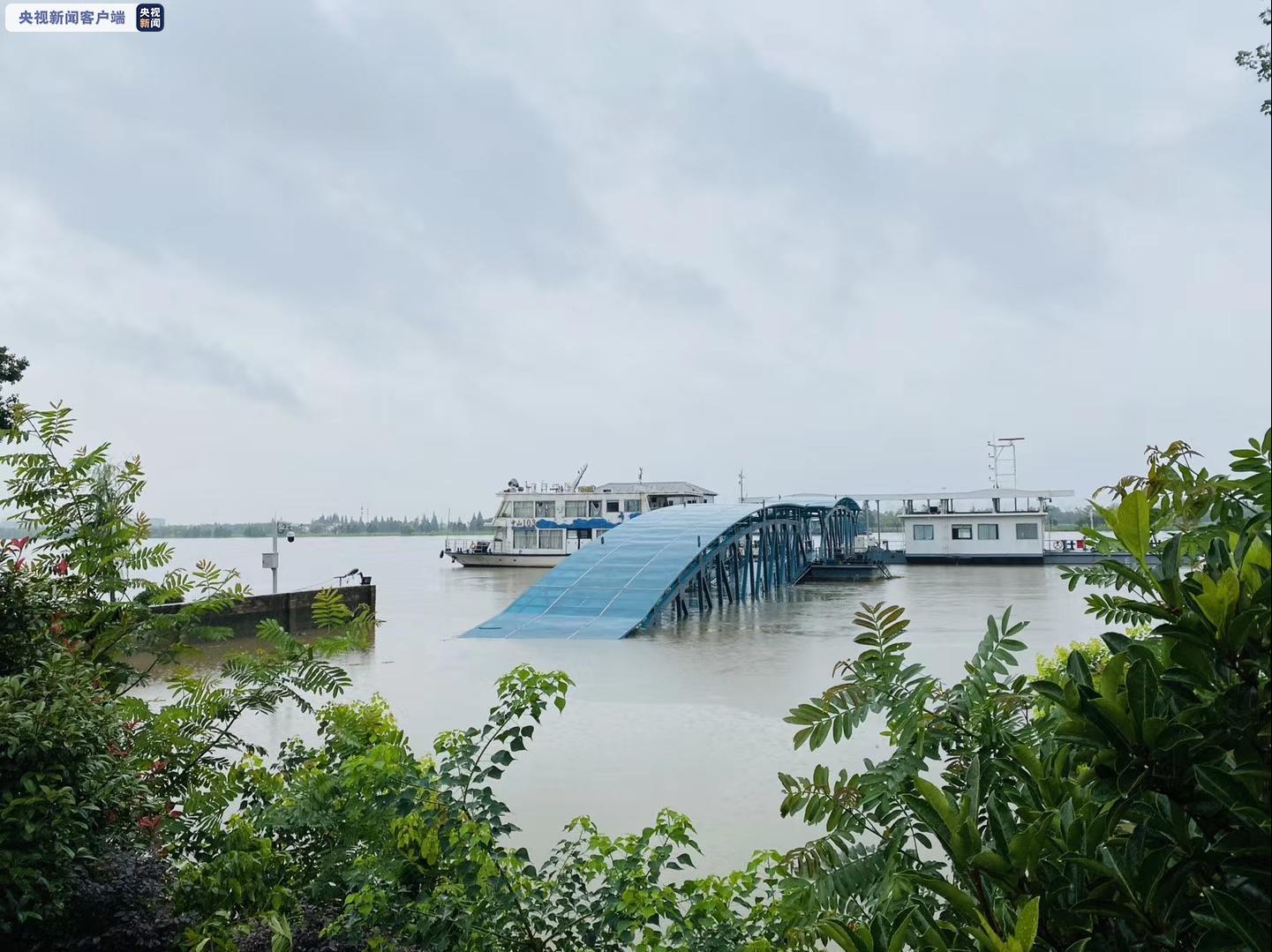 长江南京站20日水位高达10.26米 超警戒1.56米图片