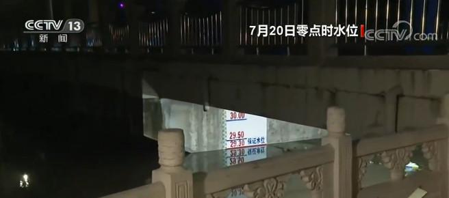 安徽淮河干流王家坝段超保证水位图片