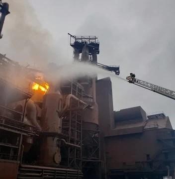 安赛乐米塔尔工厂发生爆炸  没有受伤报告