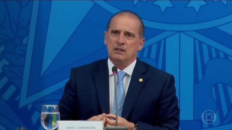△巴西公民部长洛伦佐尼