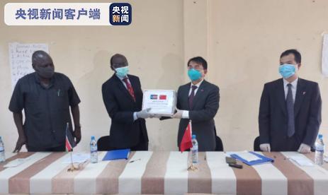中国向南苏丹捐赠医疗设备及物资图片