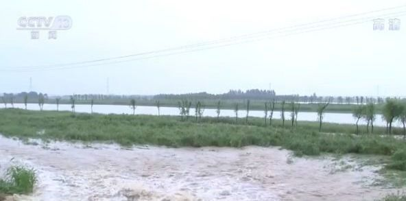 安徽合肥十八联圩蓄洪 为南淝河减压图片