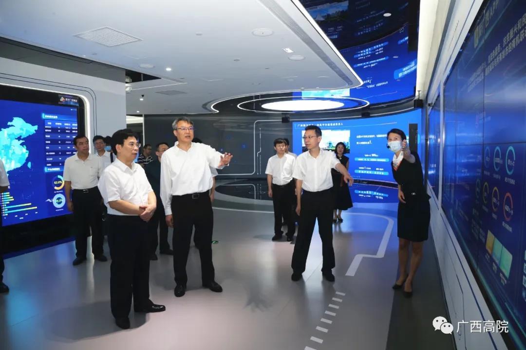 黄海龙到广西投资集团有限公司调研图片