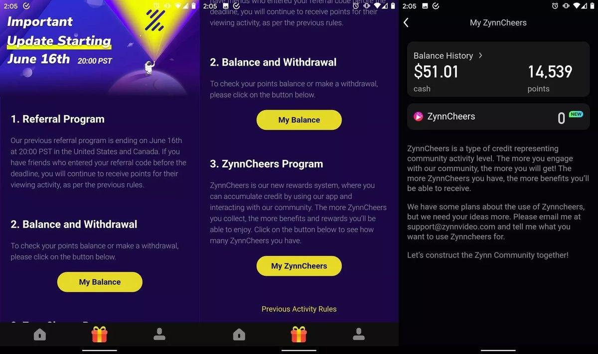 快手美国版 Zynn 重新上架:取消看视频赚钱功能引用户不满
