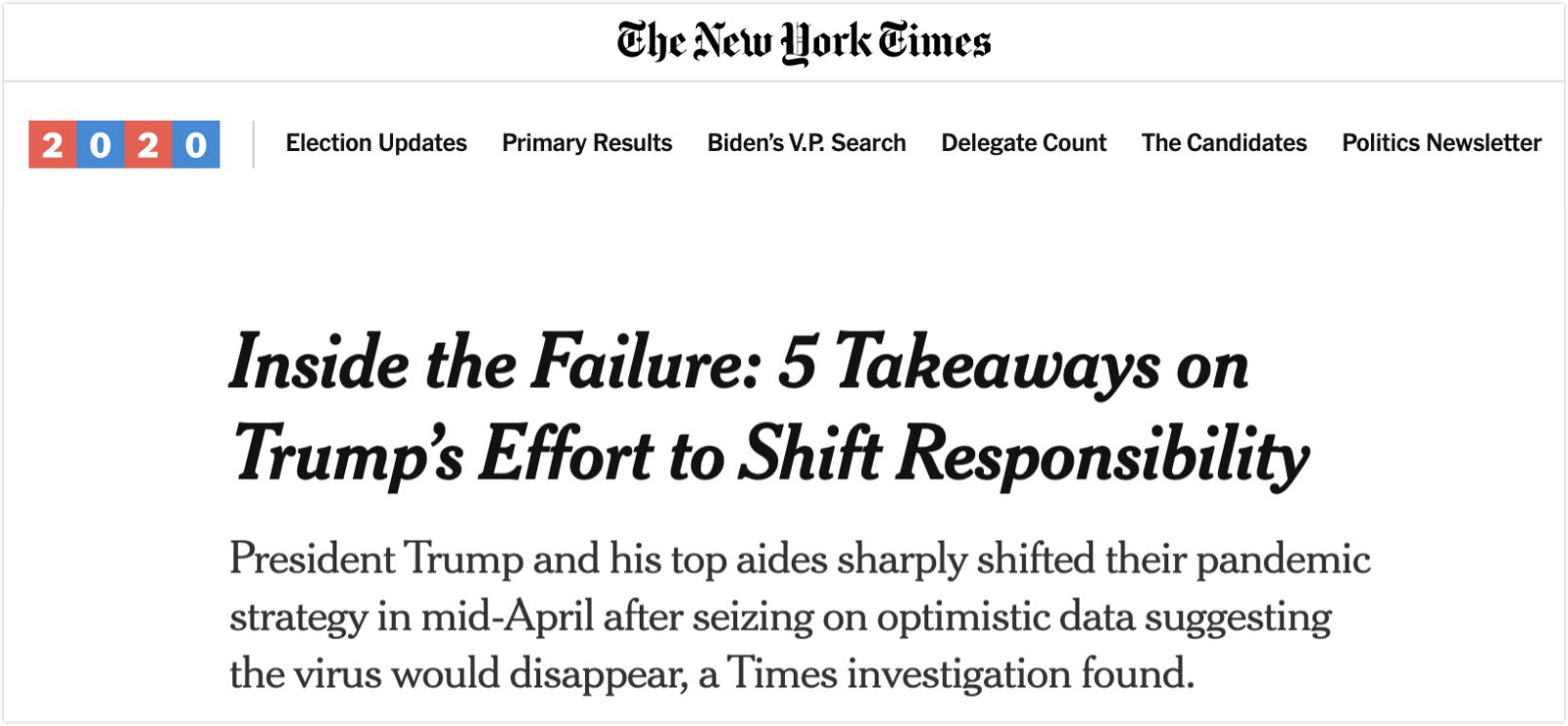 △《纽约时报》报道