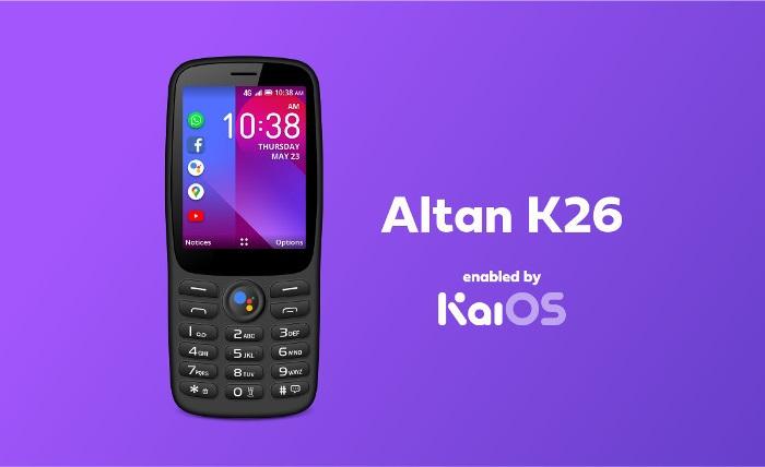 Altan K26功能机在墨西哥上市 预装KaiOS移动操作系统