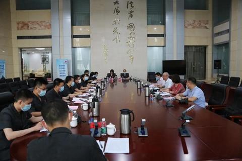 天津市人大常委会内务司法办到二中院调研司法责任制综合配套改革工作图片