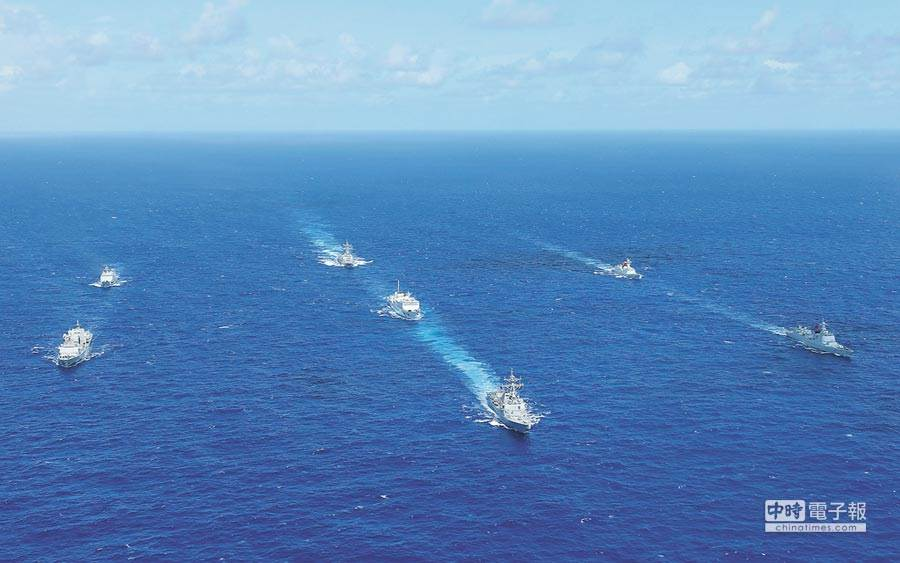 美国参院通过法案挺台湾参与环太平洋军演图片