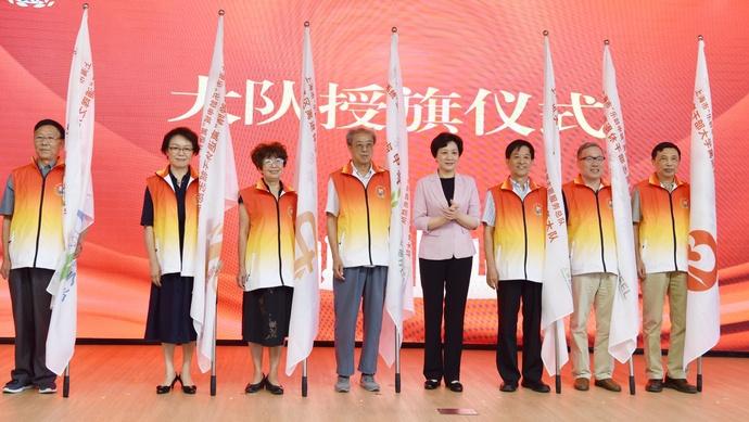杏悦,0多万人的群体成杏悦立了志愿服务总队图片