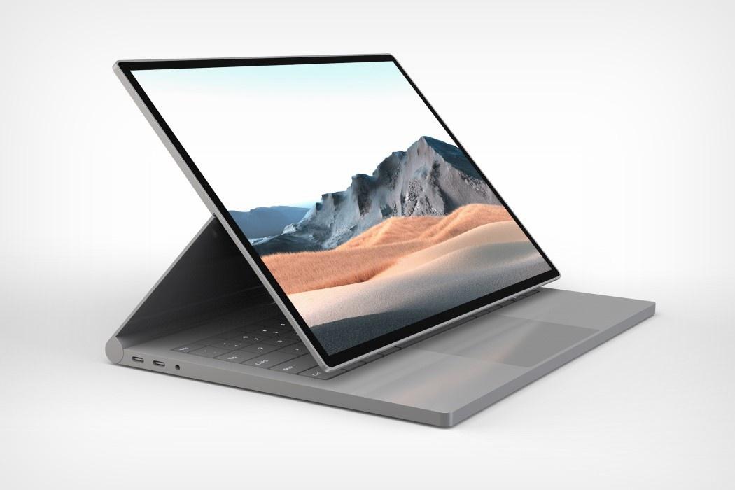 Yanko公司为Surface Book 4设想了新的设计