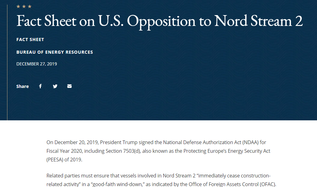 图片来源:美国国务院官网截图