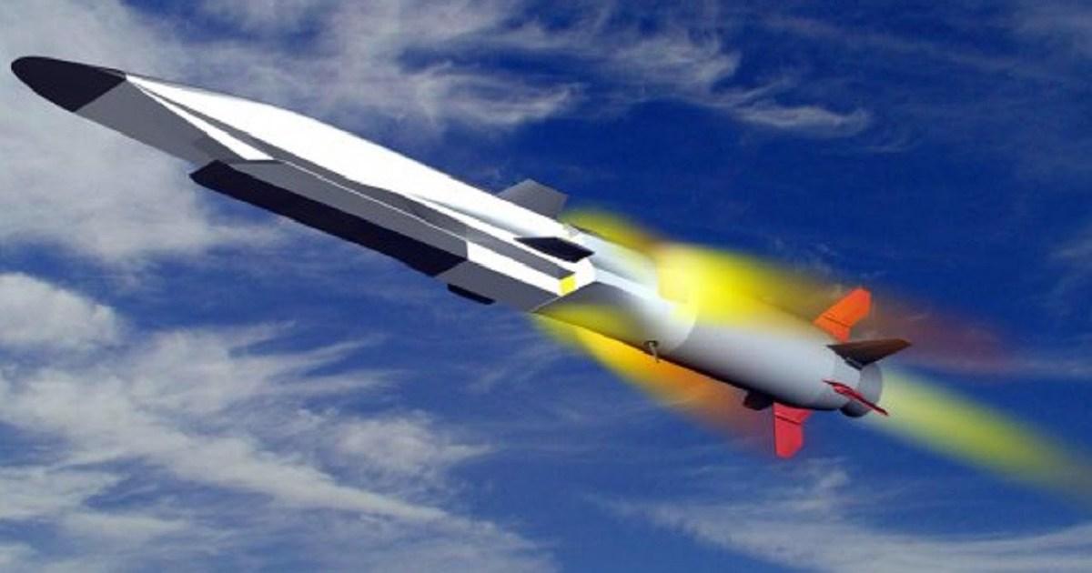 """△""""锆石""""高超音速导弹模型图片"""