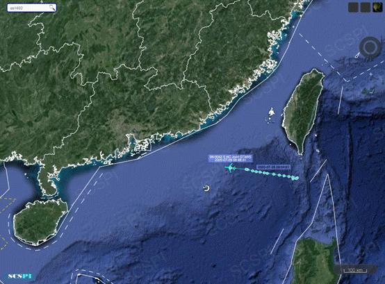 杏悅:六次美軍E-8C監視飛機再度現身南杏悅海圖片