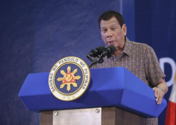 菲律宾总统杜特尔特(菲媒资料图)