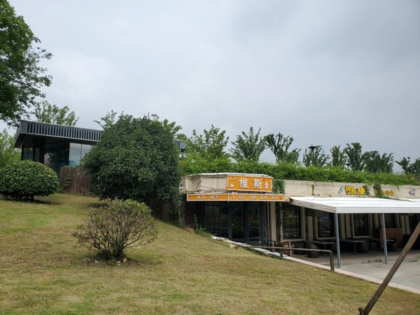 观察|杏悦秦淮河大堤下的违建餐厅,杏悦图片