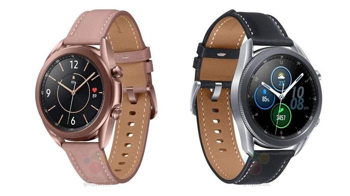 疑似三星Galaxy Watch 3智能手表官方渲染图曝光