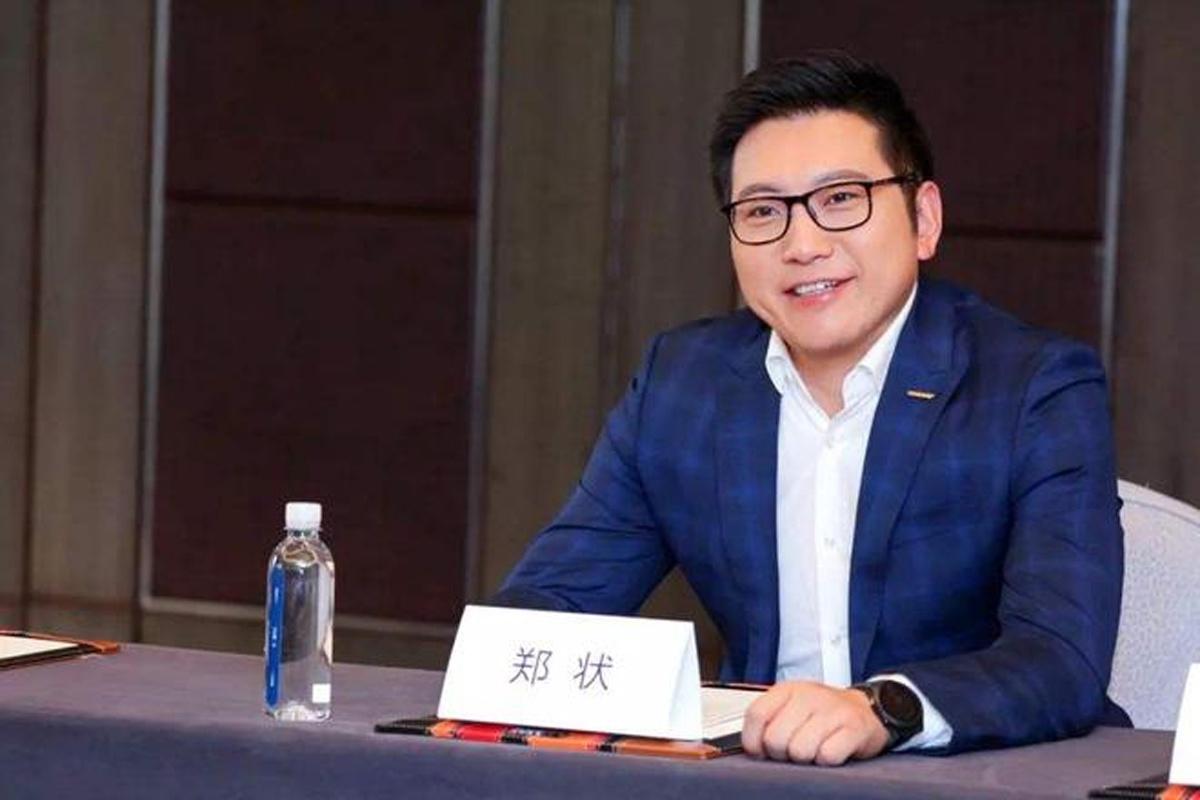 前几何品牌销售总经理郑状加盟宝能汽车