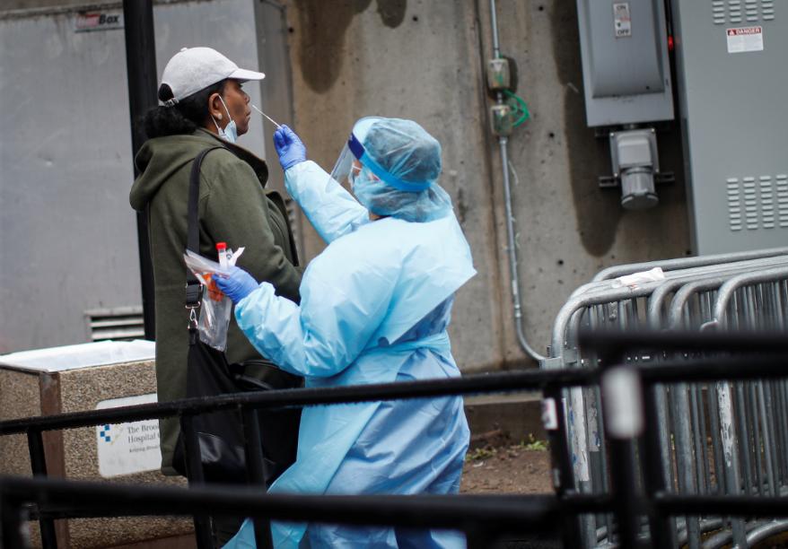 全球新冠肺炎确诊病例达16675143例(图源:美联社)
