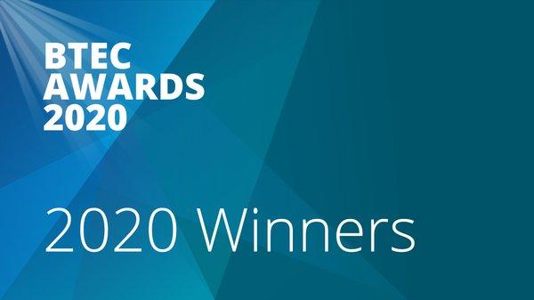 培生首次通过在线颁奖典礼,公布全球2020 BTEC大奖得主