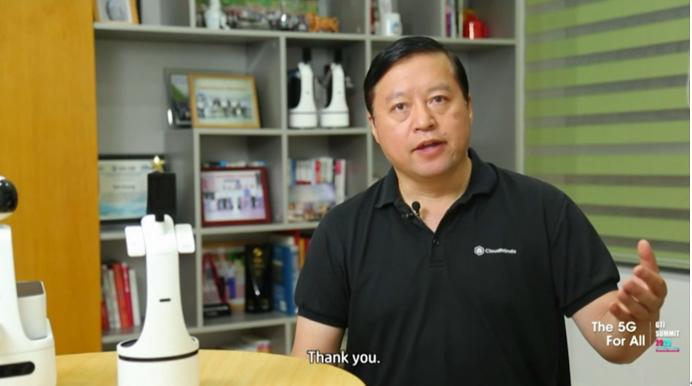 达闼科技黄晓庆:云端机器人是5G时代的杀手级应用