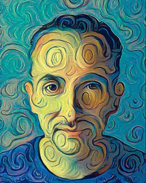 "AI画家化身""心灵捕手"",绘制风格化肖像,NeurIPS大会一举成名!"