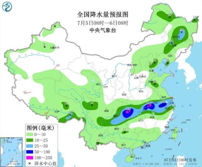 [高德招商]短暂减弱明天起长江中下高德招商游雨势图片