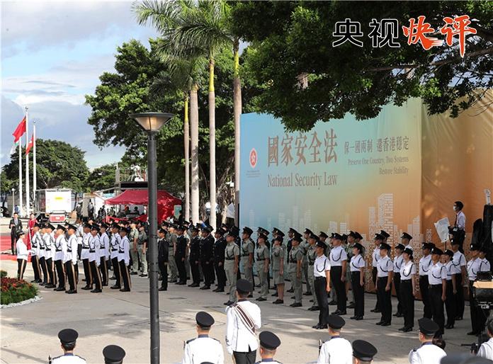 国安立法尊重香港实际符合国际惯例