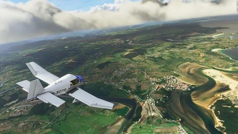 《微软飞行模拟》Alpha版加入现实交通数据