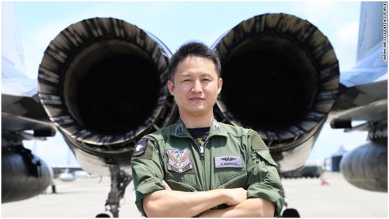 日本航空自卫队F-15J战斗机飞行员城田孝道