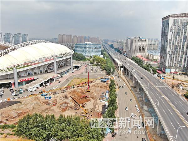 赢咖3:哈尔滨市东二环长江路互通桥赢咖3全图片