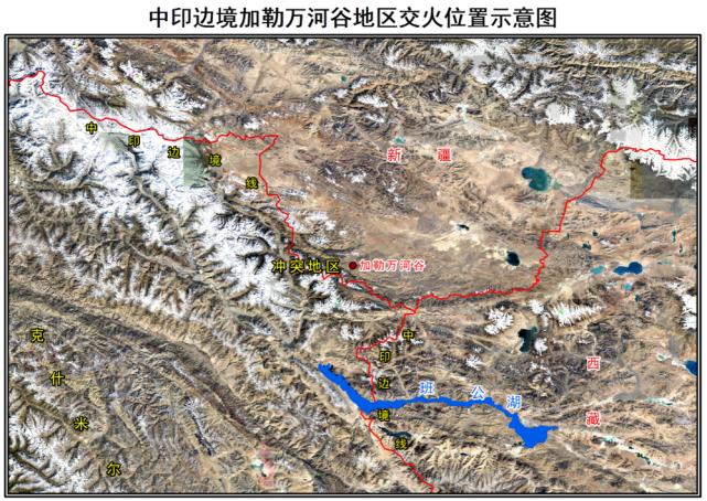印军T90部署加勒万河谷 卫星图曝光其最大硬伤(图)