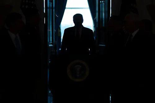1月8日,美国总统特朗普在华盛顿白宫。新华社/美联
