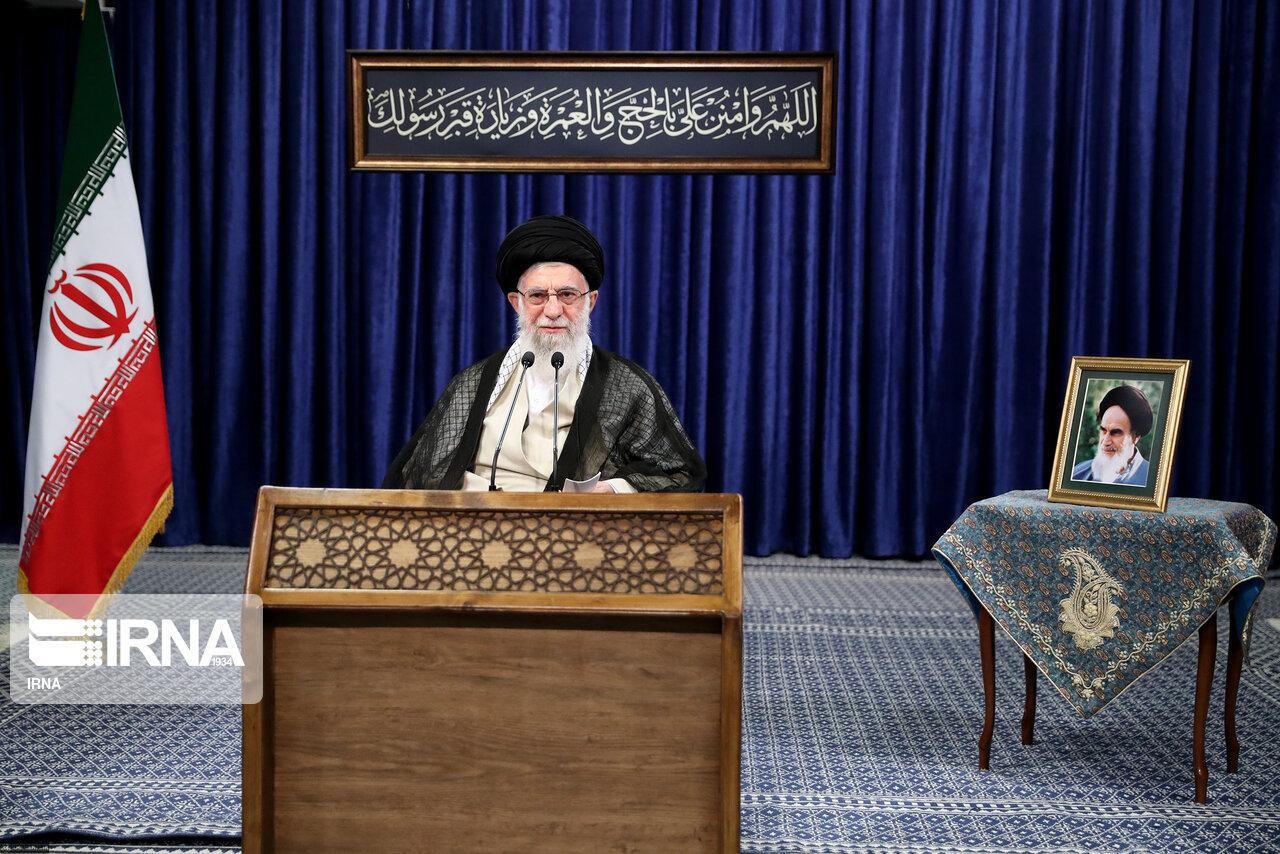 伊朗最高领袖发表电视讲话 强烈谴责美国制裁