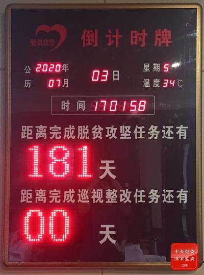 [高德注册]甘肃省脱贫攻坚专项巡视高德注册整改办图片