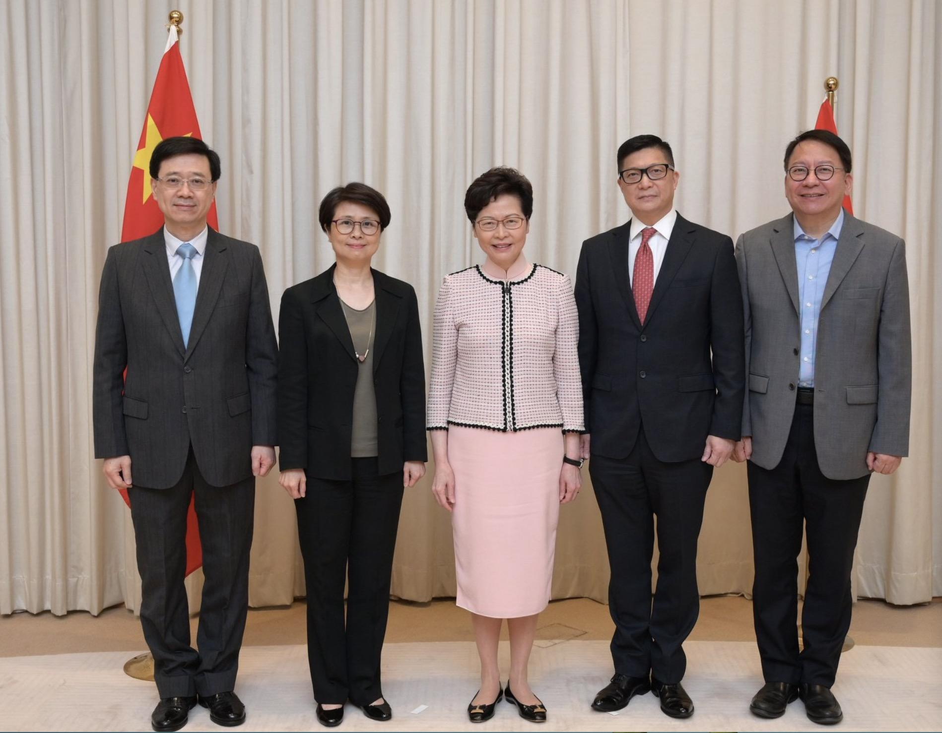 林郑月娥:维护国家安全委员会成立后 将履职尽责 捍卫国家主权图片