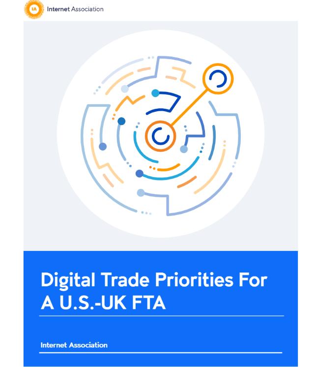 互联网协会呼吁在未来的英美贸易协定中不征收单边数字税