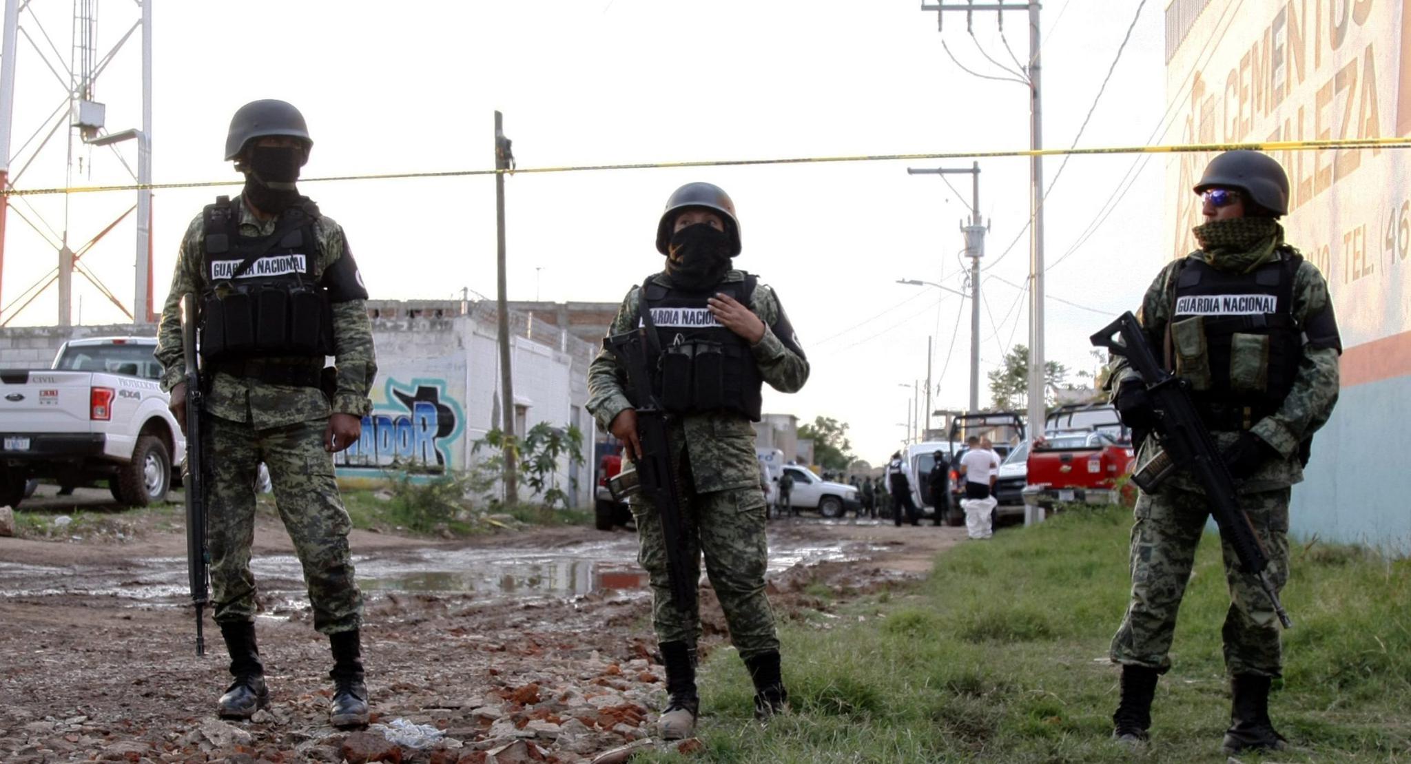 墨西哥瓜纳华托州发生暴力袭警事件 5名警察身亡