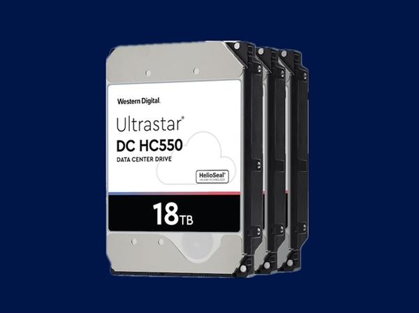 5000元起 西数18TB企业级硬盘上市:9碟装 不含SMR