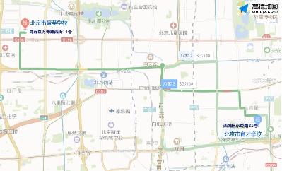 「杏悦」北京交警提示这些易混高考杏悦考点别走图片