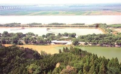摩天代理:|护绿水青山保黄河摩天代理安澜图片