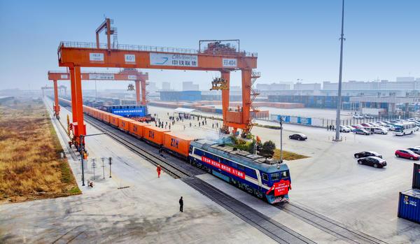 中欧班列(郑州)将获专项资金支持 建设全国中欧班列集结中心图片
