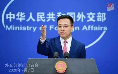 2020年7月7日外交部发言人赵立坚主持例行记者会