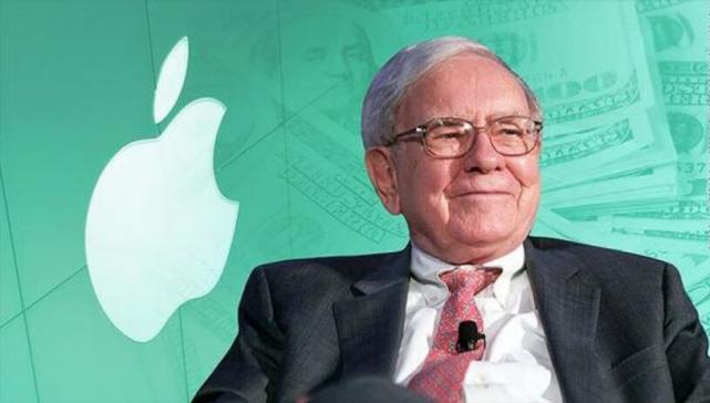 股神赚翻了!巴菲特持仓苹果股票一年半增值逾550亿美元