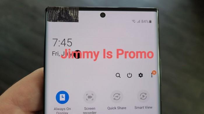 [图]Galaxy Note 20真机谍照曝光:S Pen和扬声器挪到USB-C端口左侧