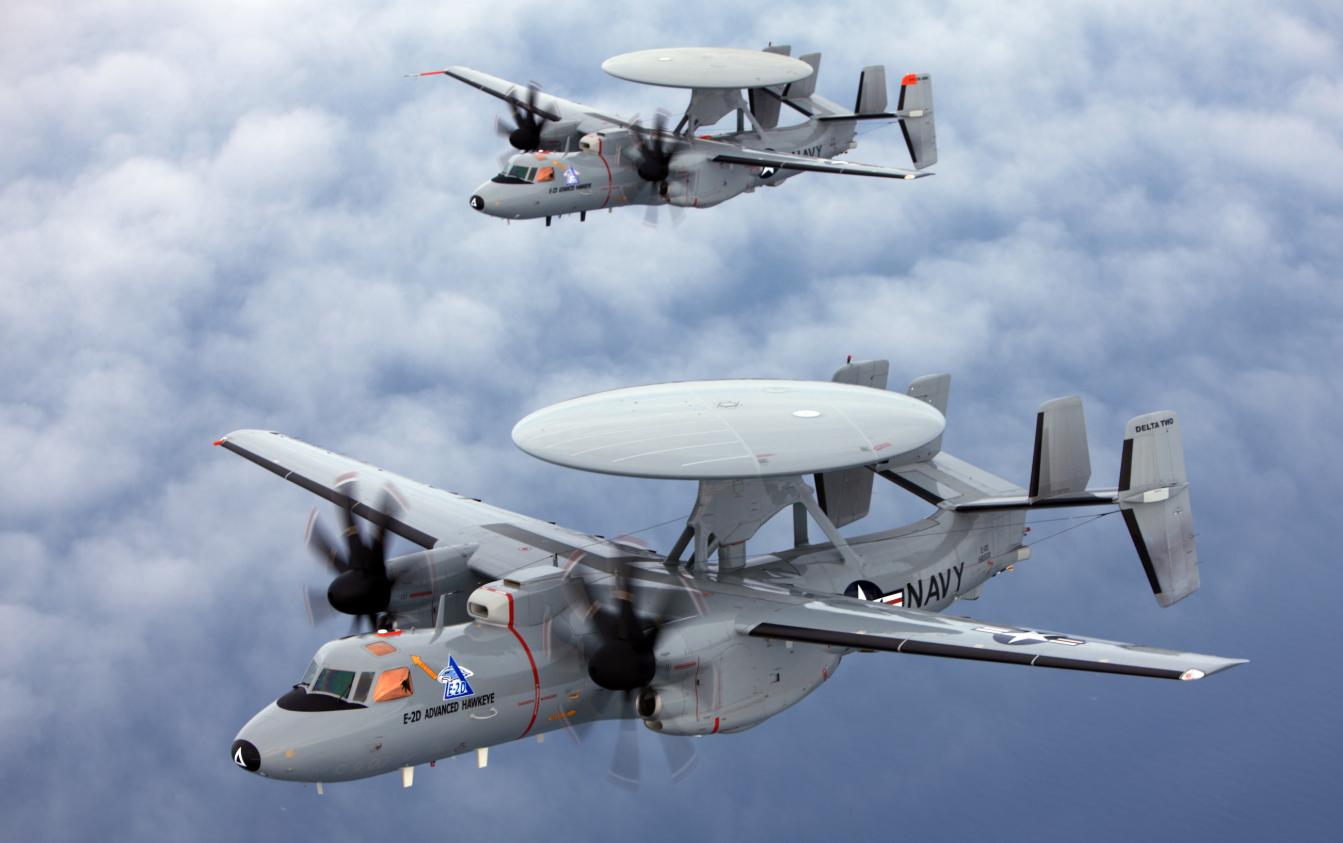 美国批准向法国出售3架E-2D预警机 要价高达20亿美元