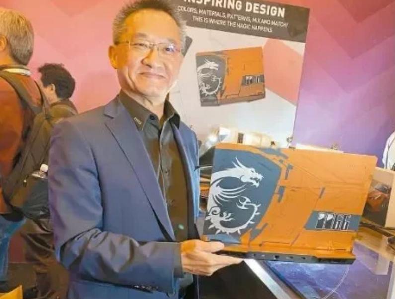 [杏悦]电脑配件大厂微星科技公杏悦司总经理图片