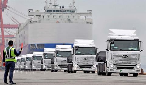 车圈 现代推出全球首款燃料电池卡车 将与特斯拉展开正面竞争
