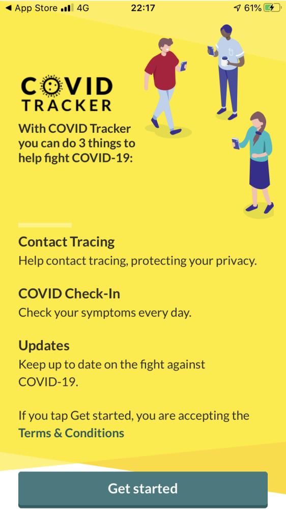 爱尔兰推出基于苹果-谷歌API的COVID-19接触者追踪App