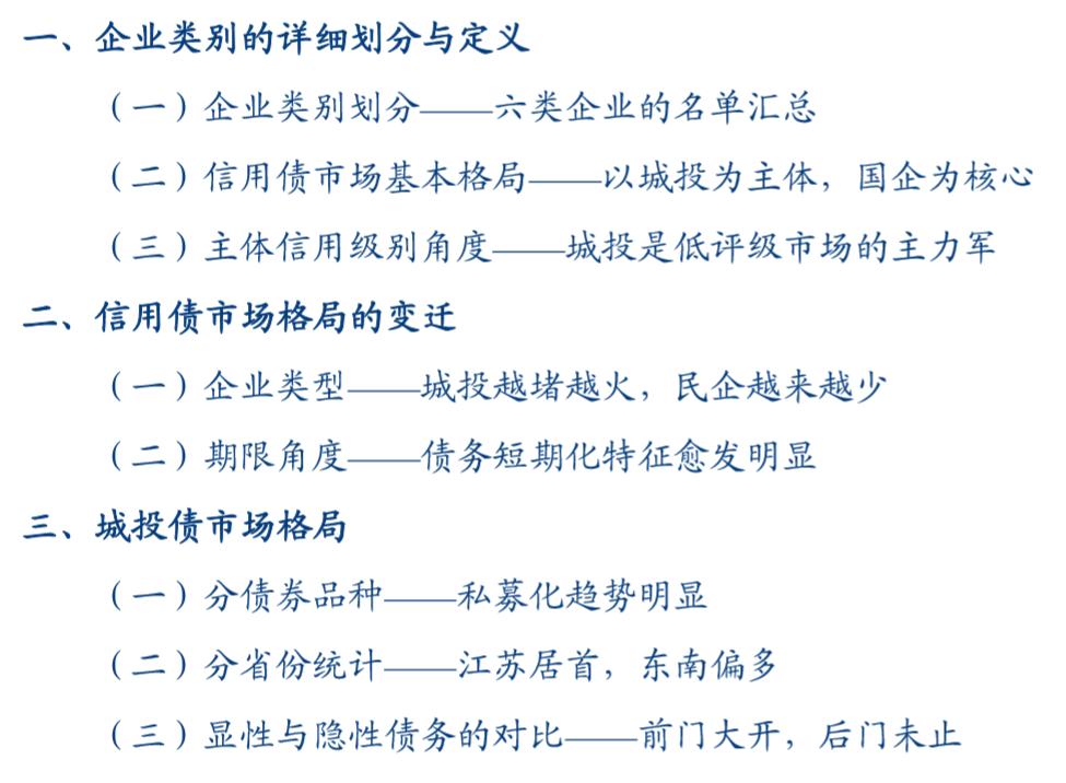 一文纵览信用债市场基本格局——信用策论系列之五【华创固收|周冠南团队】