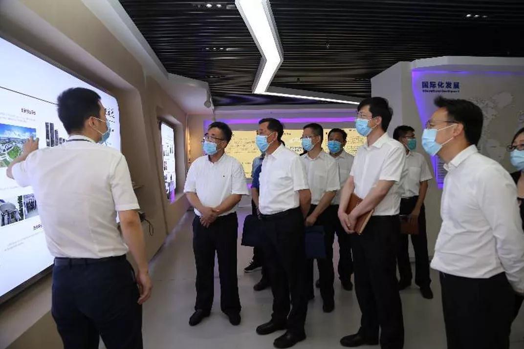 中国建材集团副董事长李新华一行调研普天双创